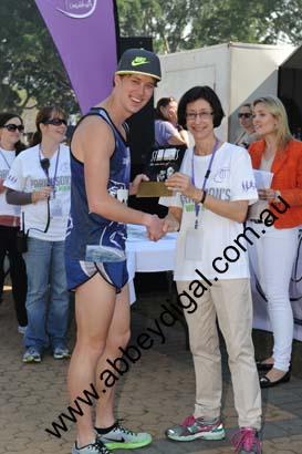 Winner of the 4K Parkinson's NSW Funrun 2013