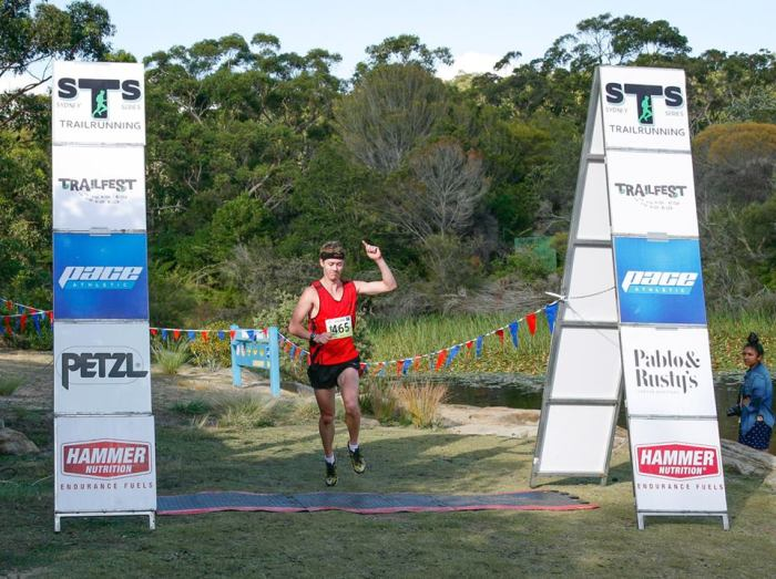 Nick takes out the Sydney Trail Series 8k.