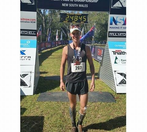 WALKERS COMES 3RD IN THE XTERRA ASIAN PACIFIC TRAIL RUNNING CHAMPIONSHIPS